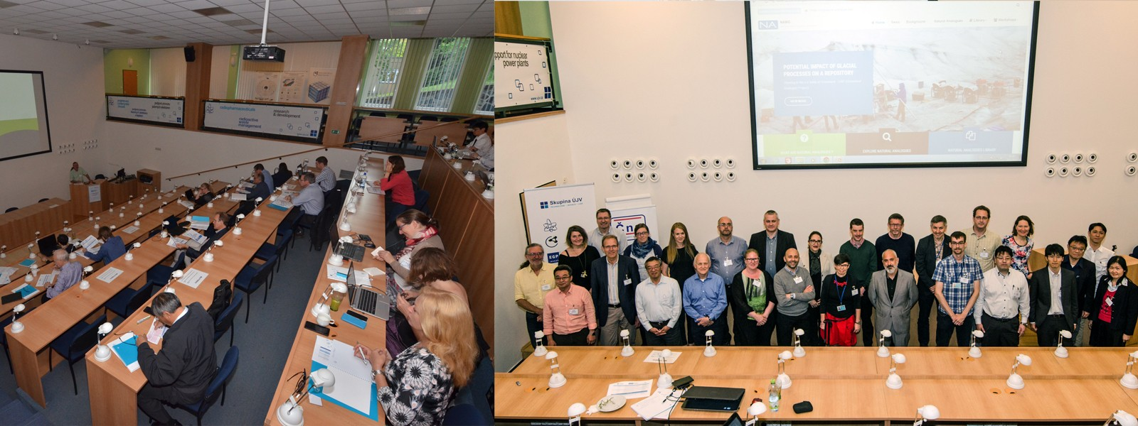 The 15th NAWG Workshop was held from Tuesday, 23rd to Thursday, 25th May, 2017 at the ÚJV laboratory, Řež, Prague in the Czech Republic View Presentations